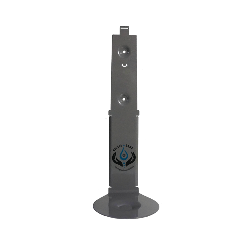 fronte struttura dispenser igienizzante a sensore da parete TOCE